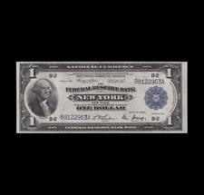 1918 $1 FRBN NEW YORK GEM UNCIRCULATED