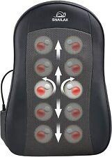 Snailax Cordless Shiatsu Back Massager with Heat Portable Kneading Massage 166