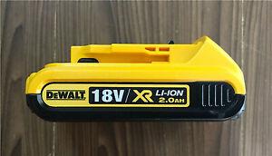 DEWALT 18V 2.0Ah XR DCB183 DCB183-XE 90Wh LI-Ion Slide BATTERY