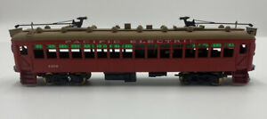 suydam 1256 venice short line Pacific Electric trolley painted ho brass train