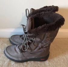 Pajar Winter Boots Womens Sz 37 US 6 6.5 Marcie Waterproof Snow Boots Faux Fur