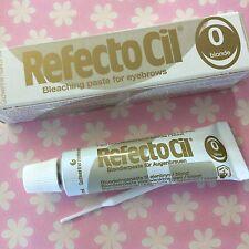 Refecto Cil 0 blond blondo pasta ossigenare sopracciglia 15 ml tinta EYEBROWS