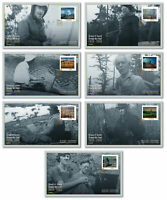 2020 Canada Set Of 7 FDCs Group Of Seven Art Landscape FDC First Day Covers
