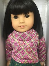 American Girl DoIl Ivy Ling 2007 Chinese American Never Removed from Box Book