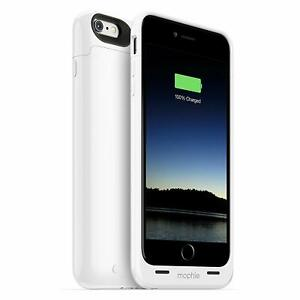 Mophie iPhone 6 PLUS / 6S PLUS Juice Pack Charging Cover Case - White