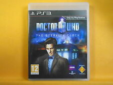 *ps3 DOCTOR WHO The Eternity Clock (NI) Action Adventure Playstation PAL