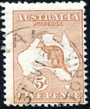 More details for australia-1913 5d chestnut sg 8  good used v27677
