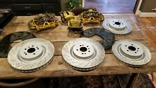 2013 MERCEDES ML63 AMG W166 BREMBO BRAKE CALIPERS AND ROTORS FRONT / REARS ML 63