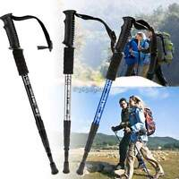 Extending Telescopic Trekking Hiking Pole Stick Walking Antishock Cane Staff DI