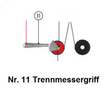 Tapofix Ersatzteil Nr. 11 Trennmessergriff - für Kleistermaschinen CB  -