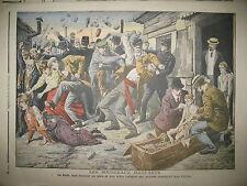 SAINT-OUEN ENFANT MARTYR LYNCHAGE FOULE AFFAIRE STEINHEIL LE PETIT JOURNAL 1908