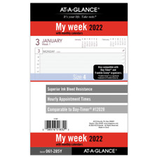 At A Glance Weeklymonthly Planner Refill Size 4 5 12 X 8 12 061 285y 22