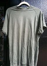 Wool Tshirt Fire & Odor Resistant Green Size Medium - 2nd quality