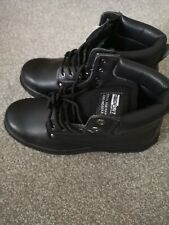 Scruffs Tough Grit Scoria Safety Boots / Work Boots  BLACK LEATHER SIZE 11