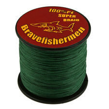 Test Moss Green 100M/300M/500M/1000M  Spectra Dyneema Braided Sea Fishing Line