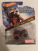 Hot Wheels Marvel Rocket Raccoon Character Car. NIB. Free Shipping
