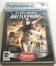 STAR WARS BATTLEFRONT GIOCO PS2 ITALIANO PLAYSTATION 2 SPED GRATIS SU + ACQUISTI