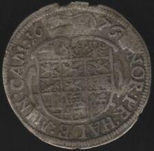 More details for 1676 german states brandenburg-ansbach johan friedrich 3 kreuzer |pennies2pounds