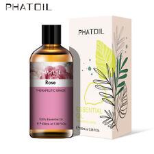 PHATOIL 100ML Rose 100% Pure Aromathérapie Huiles Essentielles Bio Avec Boite