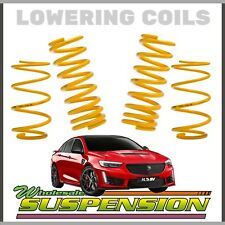HOLDEN COMMODORE ZB 25mm / 1 INCH LOWERING COIL SPRINGS (V6 AWD)