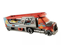 Hot Wheels Blastin' Rig Vehicle Vehicle With 3 Cars CDJ19 NEW TOY GIFT SET KIDS