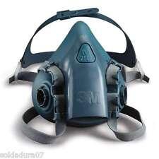 3M MASCHERA Respiratoria di silicone 7502 senza filtri taglia MEDIA M serie 7500