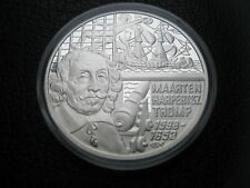 Netherlands 1998 50 € Euro Silver Proof Crown Coin ~ Maarten Harpertszoon Tromp