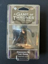 A Game of Thrones Card Game Chapter Pack Daggers in the Dark  NEW & SEALED