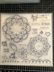 CTMH Close to My Heart Stamps D1908 Mandala Vibes NEW