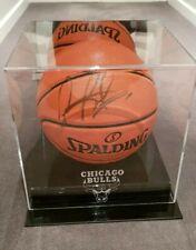 Dennis Rodman Signed Basket Ball + Case + CoA