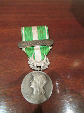 ancienne medaille militaire coloniale maroc agrafe