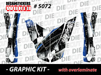 *NEW* CAN-AM SPYDER RT HOOD FENDERS WRAP DECAL STICKER GRAPHICS KIT 5072