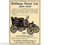 1903 Hoffman Auto Car Refrigerator Magnet