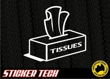 TISSUES STICKER DECAL SUIT HOLDEN V8 TURBO HSV FPV XR8 XR6 R34 R35 13B RB25 FORD