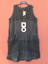 NEU KEKOO Herbst Kleid Dress Tunika Tunic Tunique XL 48 50 Lagenlook