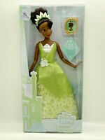 Disney Store Princess Tiana & Clip On Classic Doll NEW The Princess & the Frog