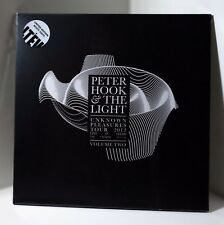 PETER HOOK & THE LIGHT Unknown Pleasures Volume Two WHITE COLOR VINYL LP Sealed