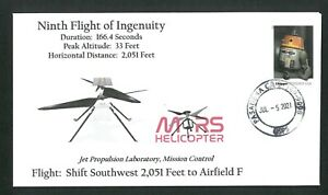 Ninth Flight of Ingenuity Cover
