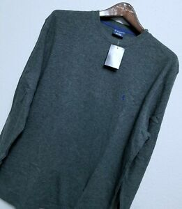 Polo Ralph Lauren Mens Waffle Knit Thermal Sleepwear Long Sleeve Shirts: L & XL
