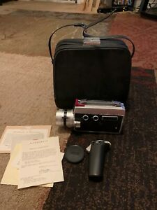 HONEYWELL ELMO SUPER 104 MOVIE CAMERA, not tested Free Shipping Benefits Charity