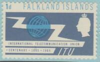 Falkland Islands 154 Mint Hinged OG* - NO FAULTS VERY FINE !