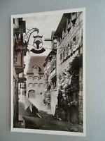 Ansichtskarte Meersburg am Bodensee Partie an der Steige