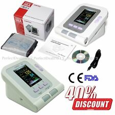 US Seller Color Automatic Digital Blood Pressure Monitor NIBP PR USB Software