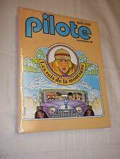"""RELIURE """"PILOTE nos 55 - 60"""" (1979) BOUCQ / H. PRATT / F MURR / BILAL / CAZA"""