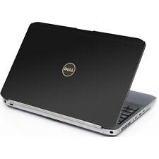 3D CARBON FIBER Vinyl Lid Skin Cover Decal fits Dell Latitude E5530 Laptop