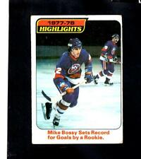 2760* 1978-79 Topps # 1 Mike Bossy Highlights