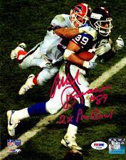 Mark Bavaro autographed signed inscribed 8x10 photo NFL New York Giants PSA COA