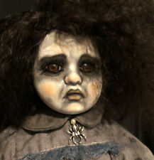 Gothic Girl #30 Ghost Ooak Porcelain Doll Mikkela Haunted Horror g2taylor