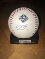 Adam Eaton Signed 2019 World Series Baseball Washington Nationals