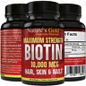 Biotin 10,000 mcg maximum strength (High Potency)Per Softgel Biotin Hair Growth